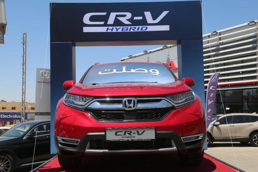 شركة هوندا موتور (طهبوب للسيارات) تعلن عن إطلاق سيارة هوندا CR-V هايبرد الجديدة كُليًّا للأردن