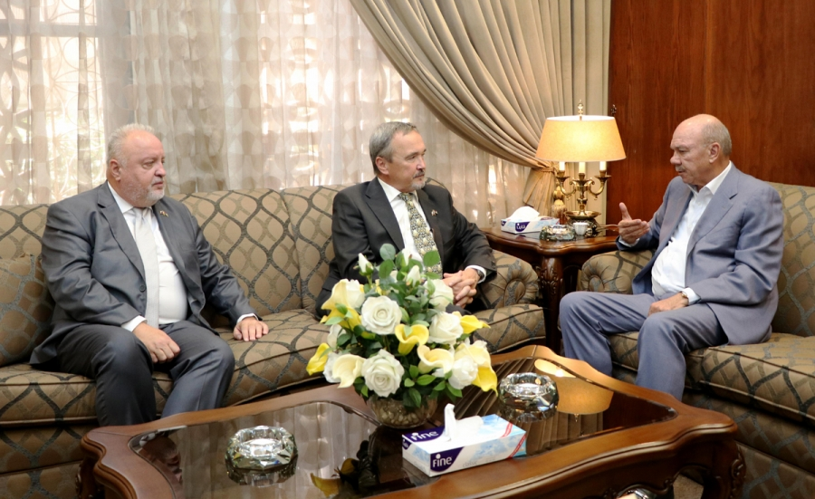 Fayez, Czech parliamentary official discuss cooperation prospects